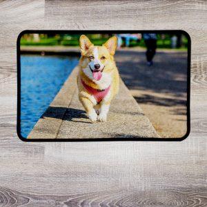 Fußmatten selbst gestalten mit Foto